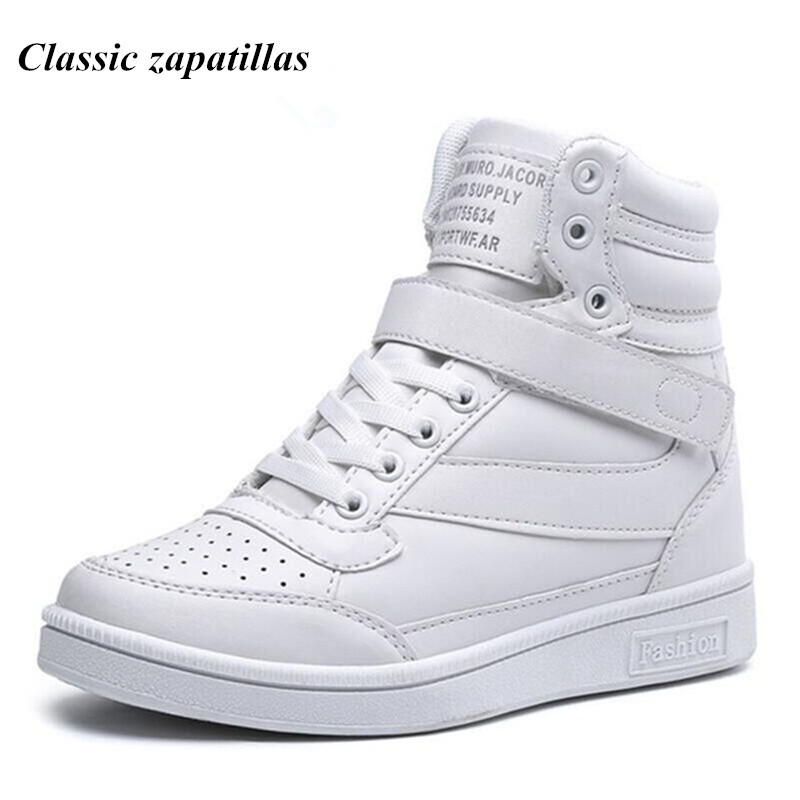 Classic zapatillas Spring Autumn Women Casual Platform Shoes High Heels Shoes Woman Ankle Boots Height Increasing Women's Shoes стоимость