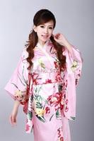 Shanghai Story Japanese tradition style dress Female's Vintage Kimono Kaftan Yukata kimono dress traditional japanese