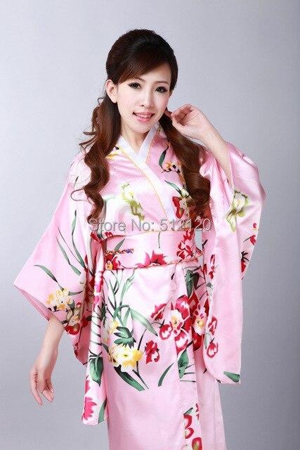 dfa76c54b R$ 103.2 48% de desconto Xangai História estilo tradição Japonesa vestido  da Fêmea Do Vintage Kimono Yukata Kaftan vestido de quimono japonês ...