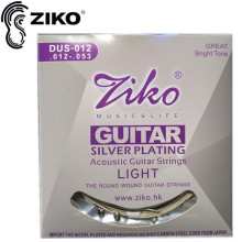 5sets / lot Elixir .011-.052 NANOWEB 16027 Akustiske guitar strings guitar dele engros