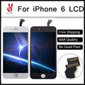 10PCS/LOT AAA Grade OEM LCD Screen for iPhone 6 4.7 lcd display digitizer Assembly Replacement White/Black Free Ship by DHL