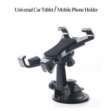 Universal rotatable 7-10 inch Car Windshield Suction Tablet Phone Mount Holder Stand For iPad/iPhone/Samsung ASUS Tablet car GPS