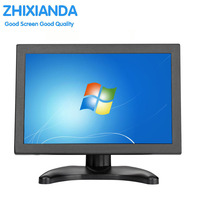10.1 Inch IPS Touch Monitor Screen with 1280x800 Resolution Video Display HDMI Input 16:9 Built in Dual Speakers