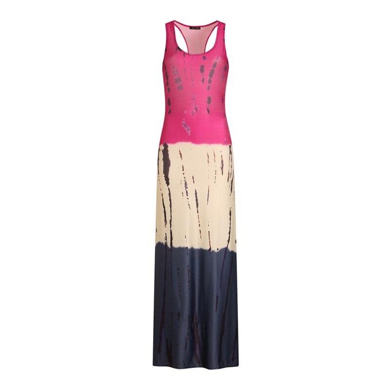 80ab7db9176 womens bodycon long maxi dress summer 2018 oversized xxxxxl plus size  sundresses casual tunic beach boho dress robe femme 2101-in Dresses from  Women s ...