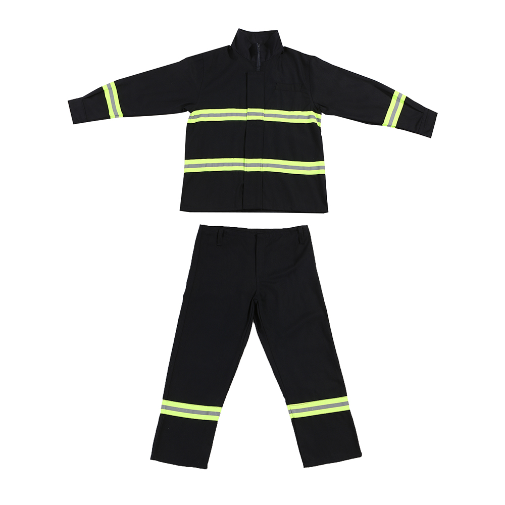 Flame Retardant Clothing 180cm Fire Resistant Clothes Fireproof Waterproof Heatproof Fire Fighting Equipment