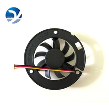 LED lamp fan Computer Components radiator fan 6015 big frame 60*60*15 round black box fan YL 0044