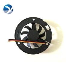 Led Lamp Fan Computer Componenten Radiator Fan 6015 Grote Frame 60*60*15 Ronde Black Box Fan YL 0044