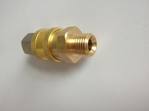 Image 3 - High quality G1/4 quick release coupler with plug for high pressure gun and hose