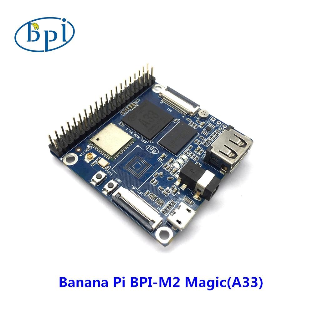 Banana PI Allwinner A33 Chip Quad-core A7 SoC And 512MB DDR3 RAM Banana Pi M2 Magic (without EMMC)
