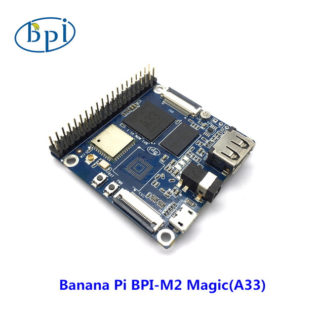 Bananeira PI Allwinner chip Quad-core A7 A33 DDR3 SoC e 512 MB RAM Banana Pi M2 Magic (sem EMMC)