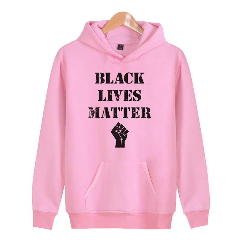 Black Lives Matter 2018 New Brand Hoodie Streetwear Hip Hop red gray white Hooded Hoody Mens Hoodies and Sweatshirts 3XL X4060
