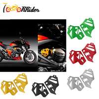 Z 800 Aluminum Fuel Injection Planel Guards Engine Pads Injector Cover Frame Body Fairing Protective for Kawasaki Z800 2013 2015
