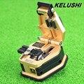 KELUSHI SKL-6C Fiber cleaver Cuchillo Corte Del Cable de fibra óptica FTTH cuchillo herramientas de corte de Alta Precisión Cuchillas 16 superficie de la hoja