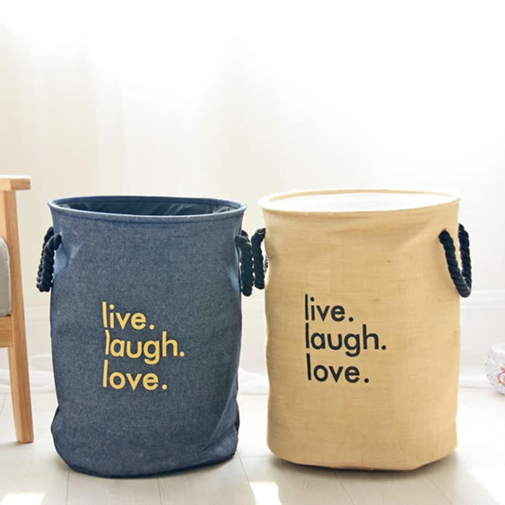 Foldable Clothes Baskets Socks Bucket Toy Storage Bin Home Organization Cloth