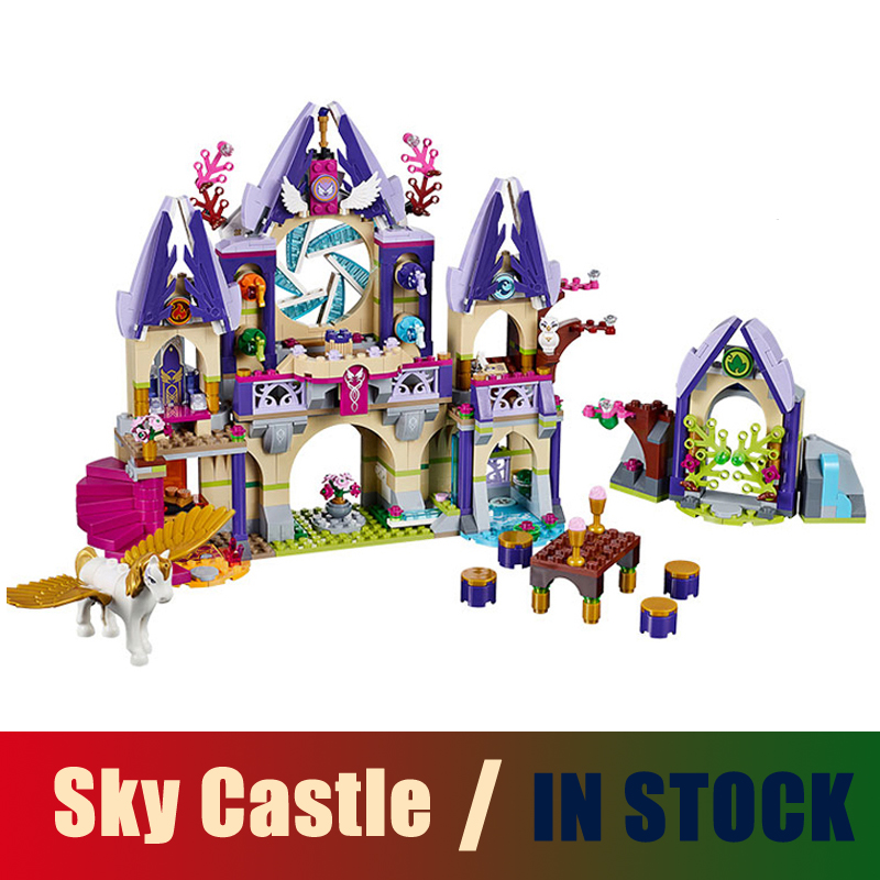 Compatible Lego Elves 41078 Models Building Toy Skyra's Mysterious Sky Castle 809pcs 79225 Building Blocks Toys & Hobbies 809pcs new 10415 elves azari aira naida emily jones sky castle fortress building block toys