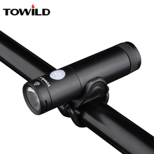 TOWILD Bike Accessories Bicycle Waterproof Torch Light USB Rechargeable Handlebar LED Front Flashlight 750Lumen