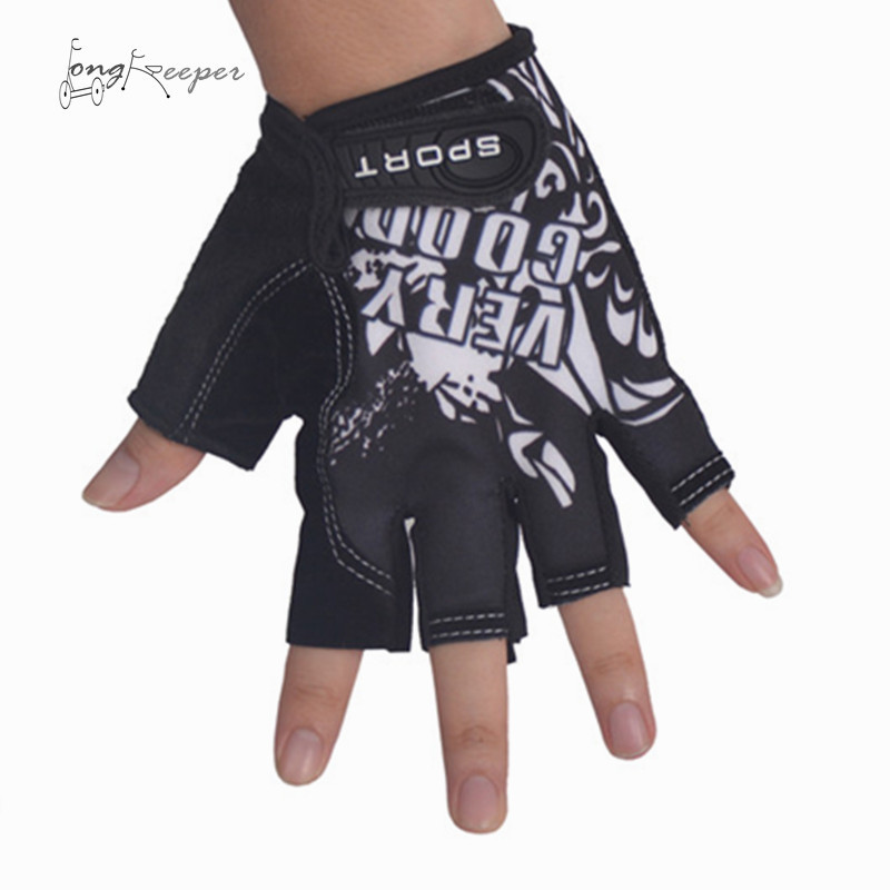 LongKeeper Classic férfi kerékpáros kesztyű Finger Finger kerékpáros sport kesztyű nagyon jó levél minta Luvas nagykereskedelmi gyári ár