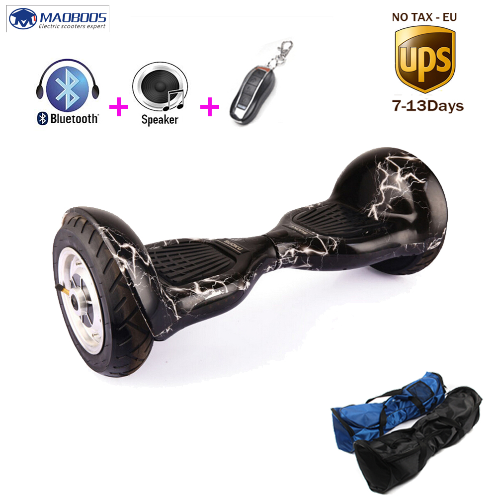 Electric hoverboard smart 2 wheels self balancing standing drift unicycle balance hoverboard skateboard