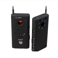 CC308 Wireless Full Frequency Detector Laser Detector Camera For Personal Privacy Security Signal GSM Device Finder