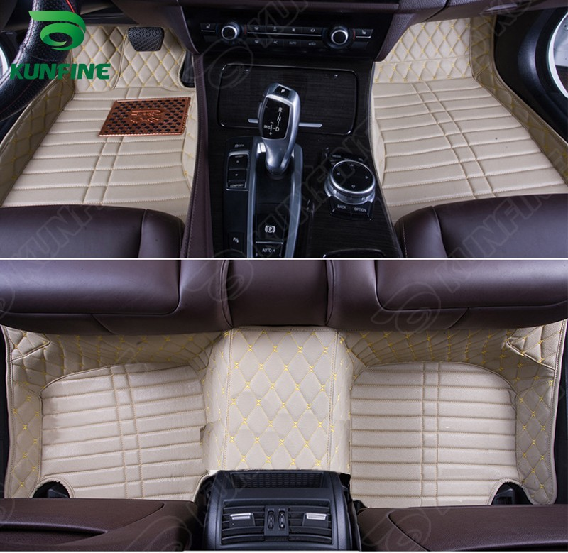 Top Quality 3D car floor mat for VW BORA foot mat car foot pad 4 colors Left hand driver drop shipping free shipping left side door lock after 08 for vw new bora 1piece