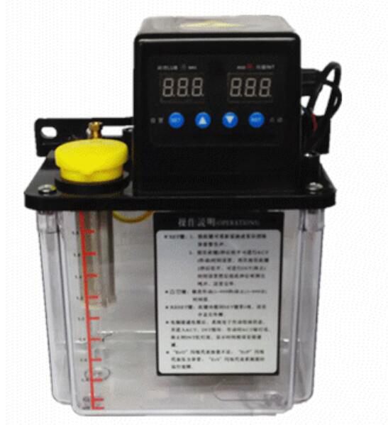 220VAC Electric Auto Lubrication Pump Oil Pump 1.5L CNC Pump Dual Digital Electronic Timer manka care 110v 220v ac 50l min 165w small electric piston vacuum pump silent pumps oil less oil free compressing pump