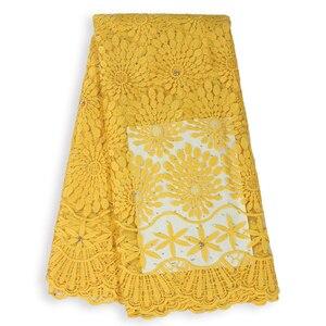 Image 3 - Tissu en dentelle française en dentelle de haute qualité, tissu nigérian en dentelle de Tulle africain, tenue de soirée, pour femmes, collection offres spéciales