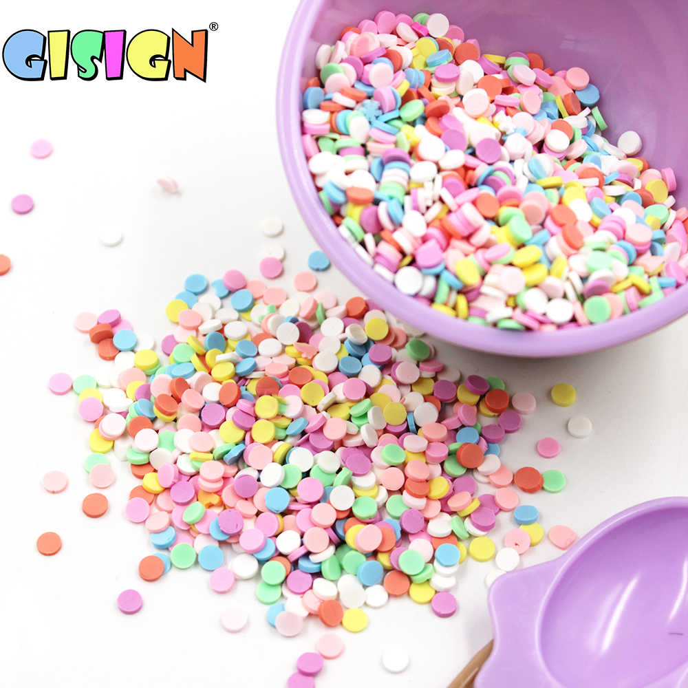10g Charms Fake Sprinkles Addition for Slime Supplies Bead Filler For Lizun Polymer Clay Fluffy Slime Toys DIY Decoration