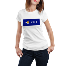 Politie Nederland T Shirt Women  Graphic Shirts Modal Casual Jersey Short Tshirt Own Logo Print Round T-shirt O-Neck