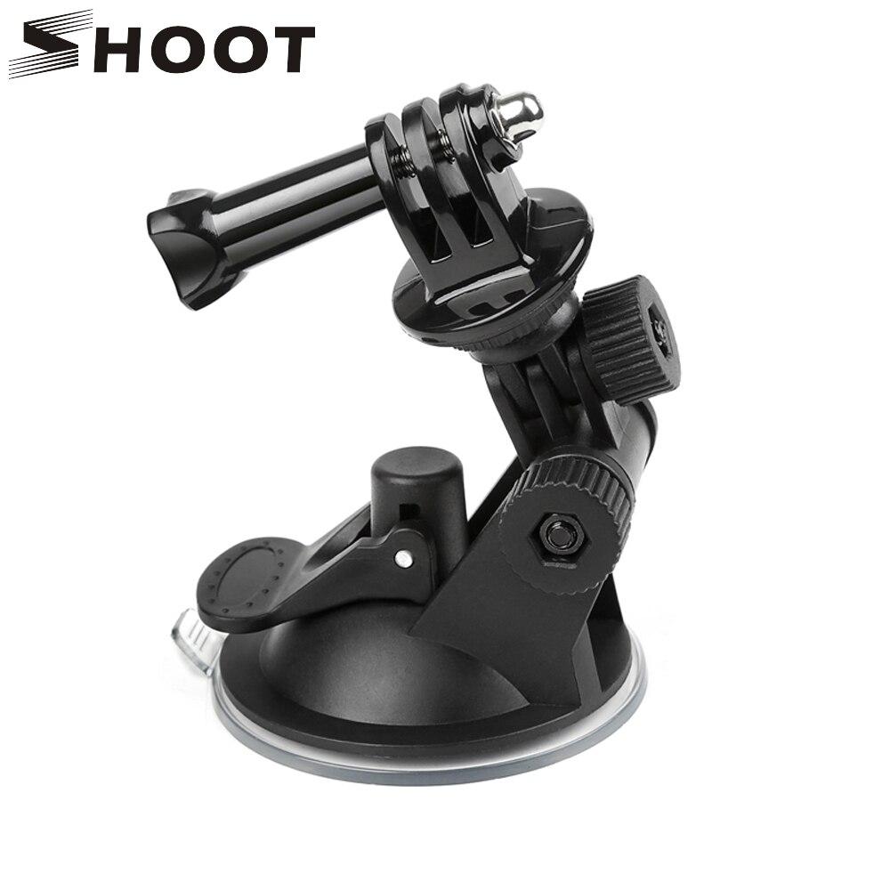 SHOOT Mini Windshield Suction Cup For GoPro Hero 8 7 6 5 Black Sjcam Sj4000 Xiaomi Yi 4K Eken H9 H9r Go Pro Hero 7 6 5 Accessory