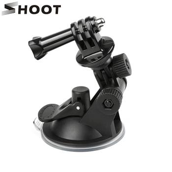 SHOOT Mini przyssawka do szyb dla GoPro Hero 8 7 6 5 czarny Sjcam Sj4000 Xiaomi Yi 4K Eken H9 H9r Go Pro Hero 7 6 5 akcesoria tanie i dobre opinie XTGP51 SOOCOO Garmin Sony Ssania Pakiet 1 China Mainland Yes Suit action camera 0 5kg for Go Pro Hero 8 7 6 5 Black 4 3 Action Camera Accessories