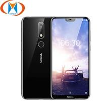 Абсолютно Новый Nokia 6,1 Plus мобильный телефон 4G LTE TA 1103 4 Гб ОЗУ 64 Гб ПЗУ 5,8 Snapdragon 636 Восьмиядерный отпечаток пальца Android телефон