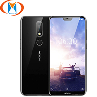 Brand new Nokia 6.1 Plus Mobile Phone 4G LTE TA 1103 4GB RAM 64GB ROM 5.8 Snapdragon 636 Octa Core Fingerprint Android Phone