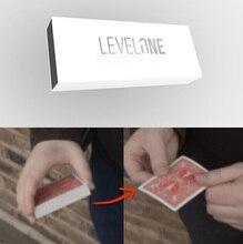 Level One (Gimmicks and Online Instructions) Magic Tricks Vanishing Style Deck Magia Close Up Illusions Prop Mentalism 2019 New цена в Москве и Питере