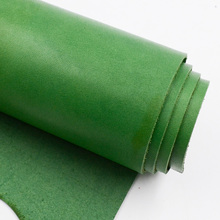 DIY handmade material color vegetable tanned leather carving leather first layer leather 2.0mm fat olive green