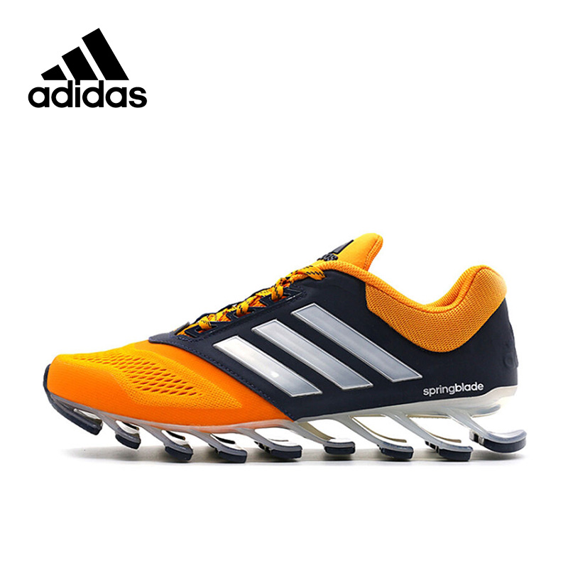 Adidas Authentic New Arrival 2017 Springblade Men s Running Shoes Sneakers  AQ8113 AQ8114 adidas springblade drive 2 b24bc2bfb4d9