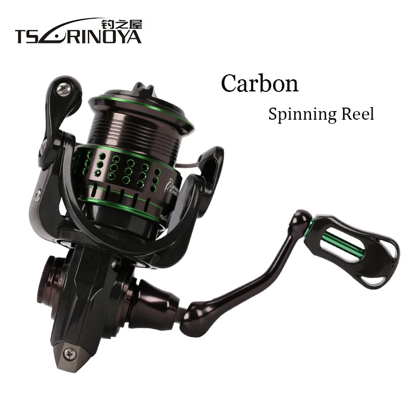 TSURINOYA Kingfisher 800/1000 Spinning Fishing reel 162g Ultra-light Spinning Reel 10+1BB Carbon Fiber Body 5.2:1 4kg DragTSURINOYA Kingfisher 800/1000 Spinning Fishing reel 162g Ultra-light Spinning Reel 10+1BB Carbon Fiber Body 5.2:1 4kg Drag