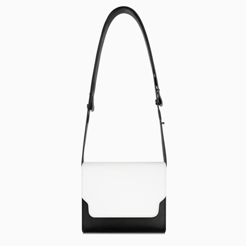 ZOEY automne hiver nouveauté femmes unique sac Vintage fronde noir rabat