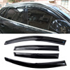 4pcs Windows Vent Visors Rain Guard Dark Sun Shield Deflectors For Audi Q5