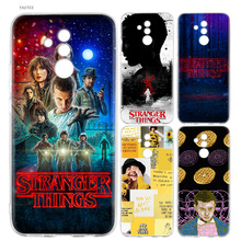 stranger things Heart Fashion Soft Case For Huawei P30 P20 Mate 20 10 Pro P10 P9 lite P Smart + Plus Z 2019 Cover Coque