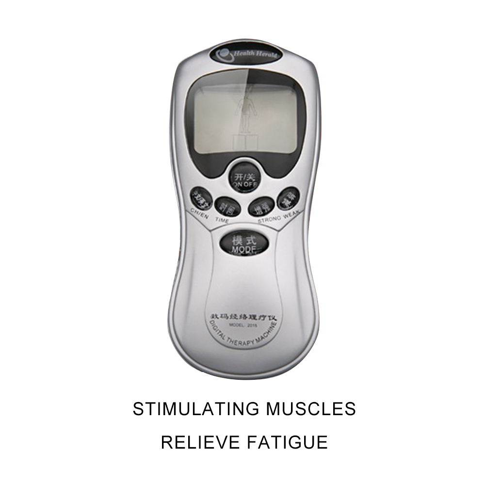 Electric Myostimulator Physiotherapy Therapy Stimulator Meridian Slimming Massager Low Frequency Stimulator Body Massage Machine in Massage Relaxation from Beauty Health