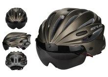 GUB  K80 Plus Bicycle Helmet Integrally-molded MTB Road Bike Safe Cap Men Women Cycling Helmet With Magnet Adsorption Goggle