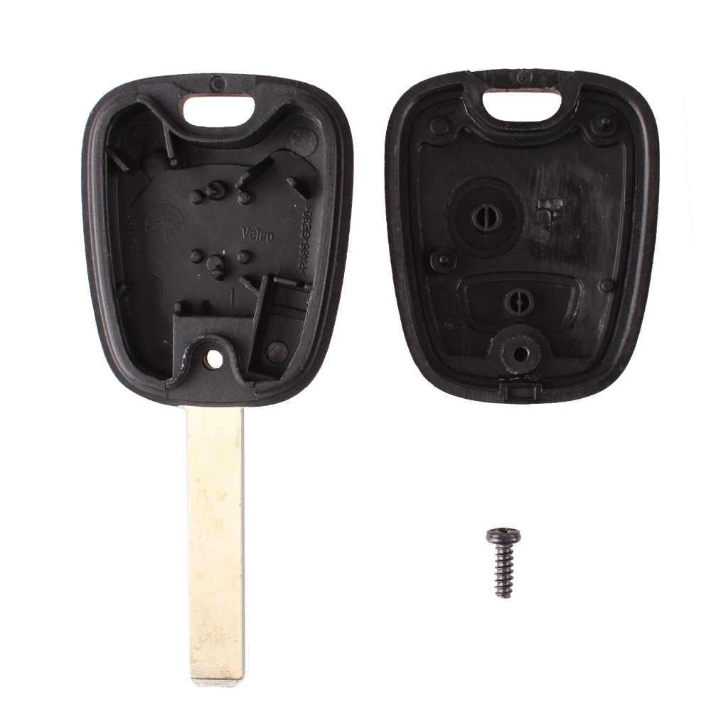 KEYYOU 2 כפתור מרחוק רכב מפתח Case מעטפת Fob לסיטרואן C1 C2 C3/Pluriel C4 C5 C8/ קסארה פיקאסו VA2 להב