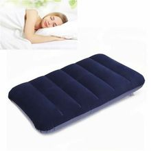 Foldable Pillow Outdoor Travel Sleep Air Inflatable Cushion Fr Break Rest