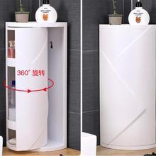 Треугольники 360 вращения трещины стеллаж для выставки товаров Ванная комната для хранения стеллаж для хранения мульти-многослойный, для холодильника боковая полка