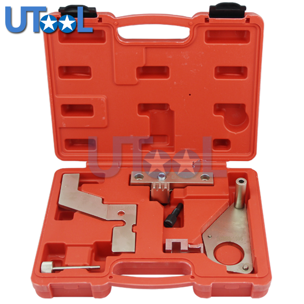 UTOOL Camshaft Engine Timing Tool Kit For LAND ROVER RANGE ROVER SI4 EVOQUE CRANK CAM FLYWHEEL цена