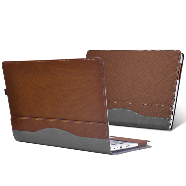 PU Leather Case Cover For Lenovo Flex4-14 Laptop Bag Notebook Protective Sleeve For Lenovo Yoga 510 14 Inch Pen As Gift