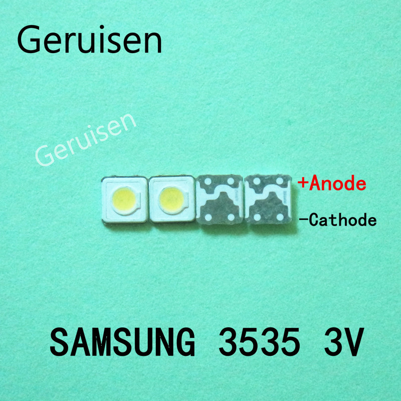 4000PCS SAMSUNG LED Backlight High Power 1W 3537 3535 100LM Cool white SPBWH1332S1BVC1BIB LCD Backlight for