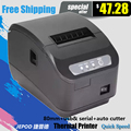 XP-Q200II 80 мм термопринтер 80 мм кухня принтер USB порт POS 80 мм тепловая чековый принтер USB + Serial