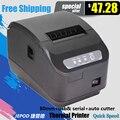 XP-Q200II 80mm impressora térmica 80mm cozinha porta USB de impressora POS 80mm recibos térmica impressora USB + Serial