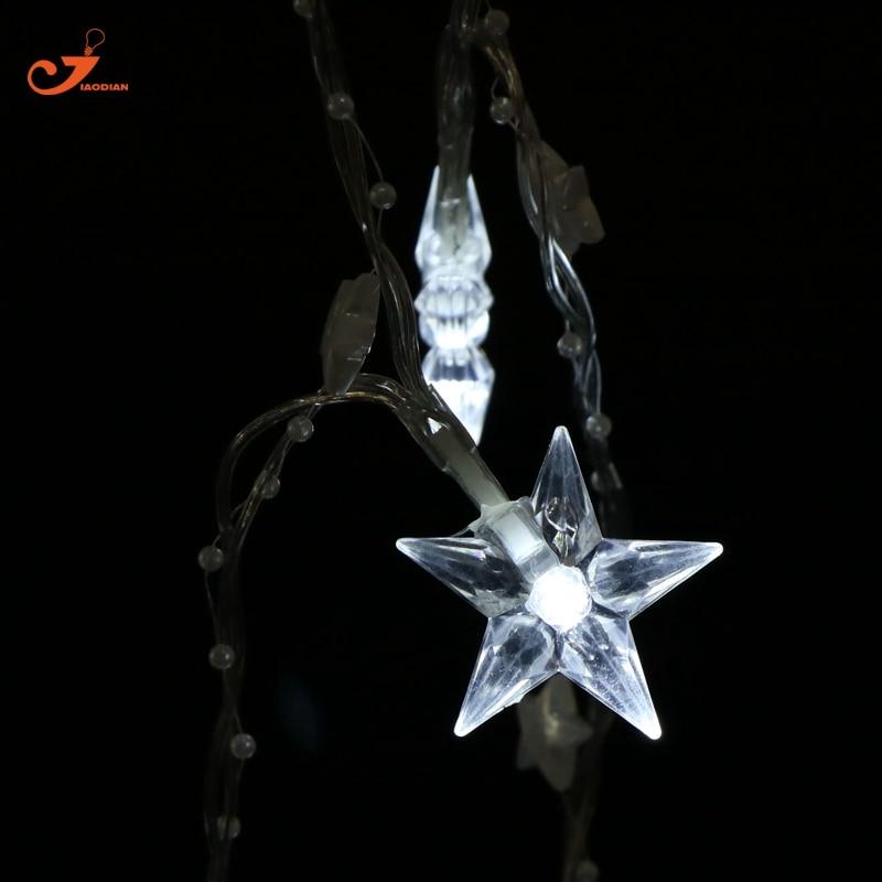 Wedding White Lights: White Star String Light Indoor Fairy Lighting Home Wedding